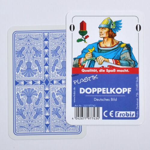 Doppelkopfkarten Plastik Deutsches Bild Kornblume Doppelkopf Frobis Ab 5,53€ St