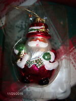 Vintage Fitz And Floyd Santa Claus Ornament - 19/1561 Never Used