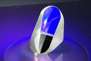 2 unidades 90 ° porro prisma 40 x 18.0 x 29.3 mm hqo luz/láser directiva desensamblar
