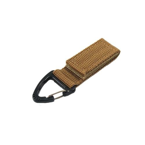 Tactical Military Quick Release Buckle w\ Metal Hook for Molle Backpack,Vest