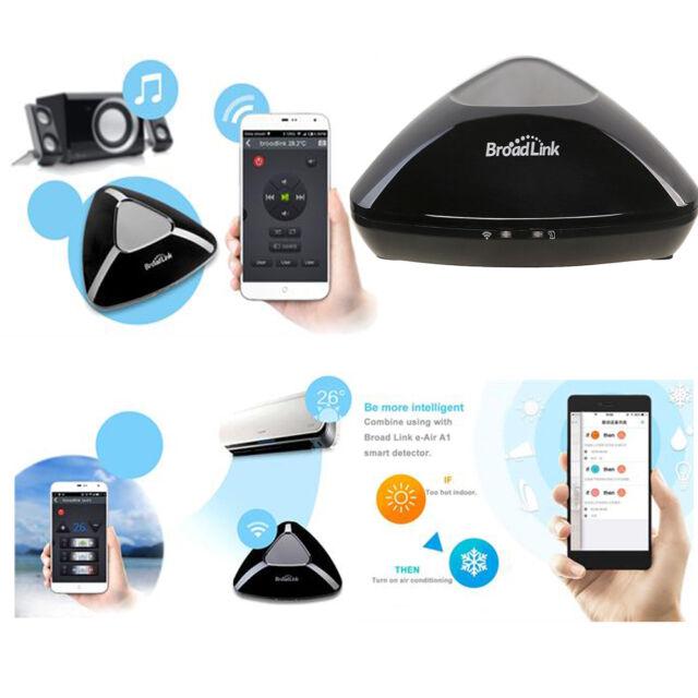 2016 Broadlink RM Pro WiFi Wireless Remote Control Home Automation Kit Black US