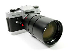 Leitz Leicaflex SL Film Camera & 180mm f2.8 Elmarit-R Lens