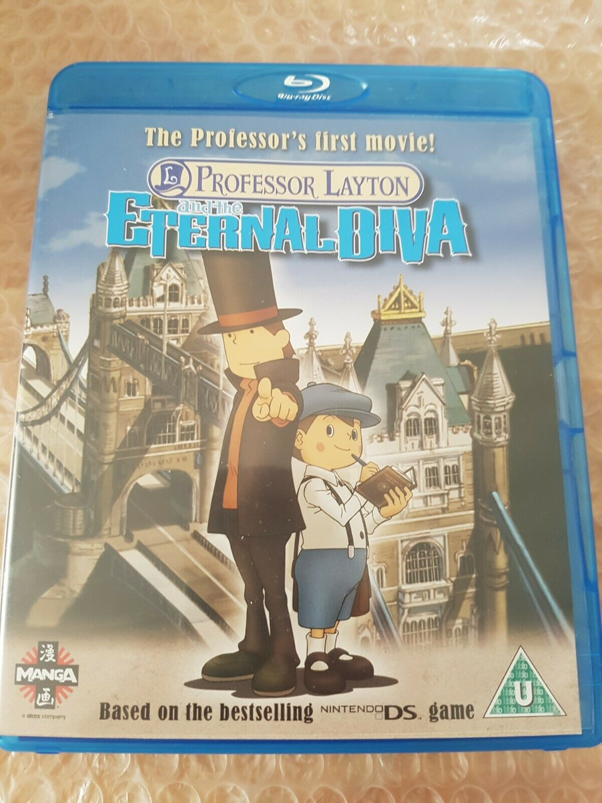 Professor Layton And The Eternal Diva Blu Ray 2010 For Sale
