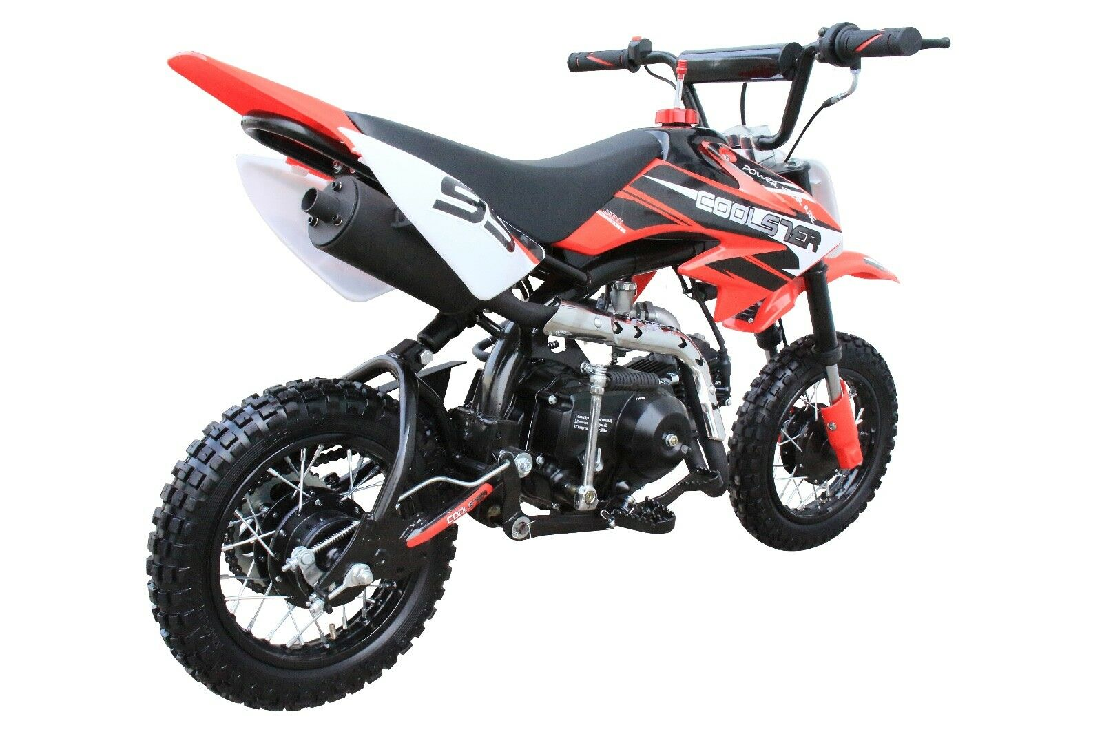 New Coolster 110cc Kids 4 Stroke Fully Auto Mini Dirt Bike