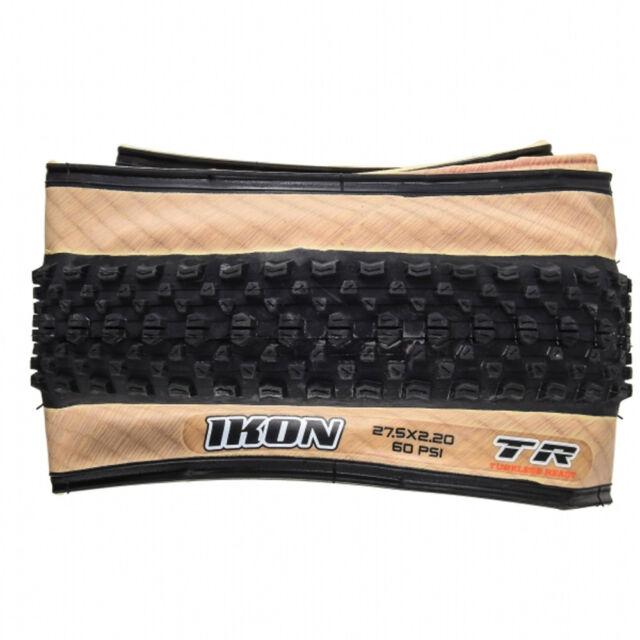 Maxxis Ikon Tan Wall 27.5x2.20 (650B) Tubeless Ready Folding MTB Tyre