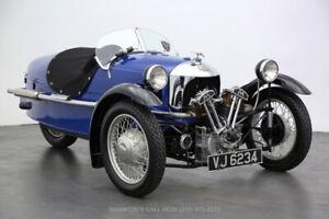 1934 Morgan Super Sport 3 Wheeler