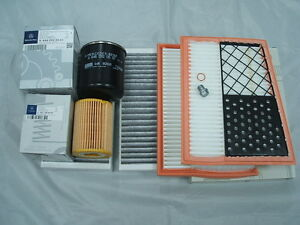 w164 Oil,Fuel,Pollen /& Air Filters Service Kit ML280,ML300,ML320 CDi