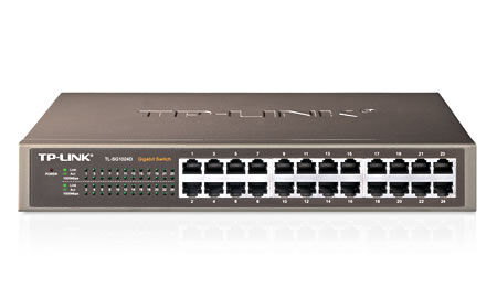 TP-LINK TL-SG1016D 10//100//1000Mbps Unmanaged 16-Port Gigabit Desktop//rackmountab