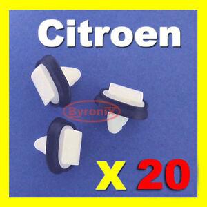 CITROEN-JUMPER-RELAY-SIDE-TRIM-MOULDING-PLASTIC-CLIPS-EXTERIOR-RUB-STRIP-X20