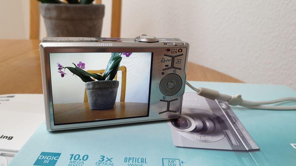 Canon, Ixus 90is, 10 megapixels
