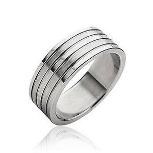R38-Herren-Ring-Edelstahl-316L-B-8-mm-MIT-SCHMUCKBEUTEL-Ringe-Maenner-Mens-rings