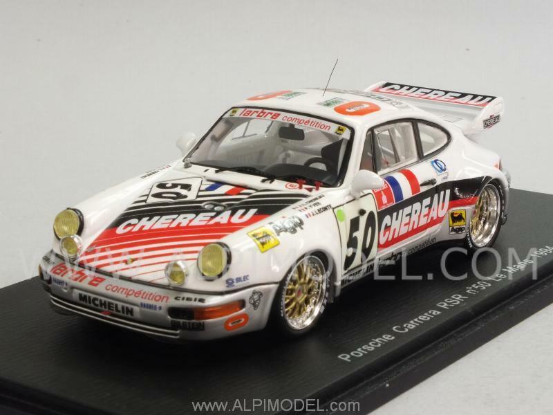 Porsche 911 Carrera RSR Le Mans 1994 Yver - Chereau Chereau Chereau - Lecon 1 43 SPARK S4175 4bc9c4