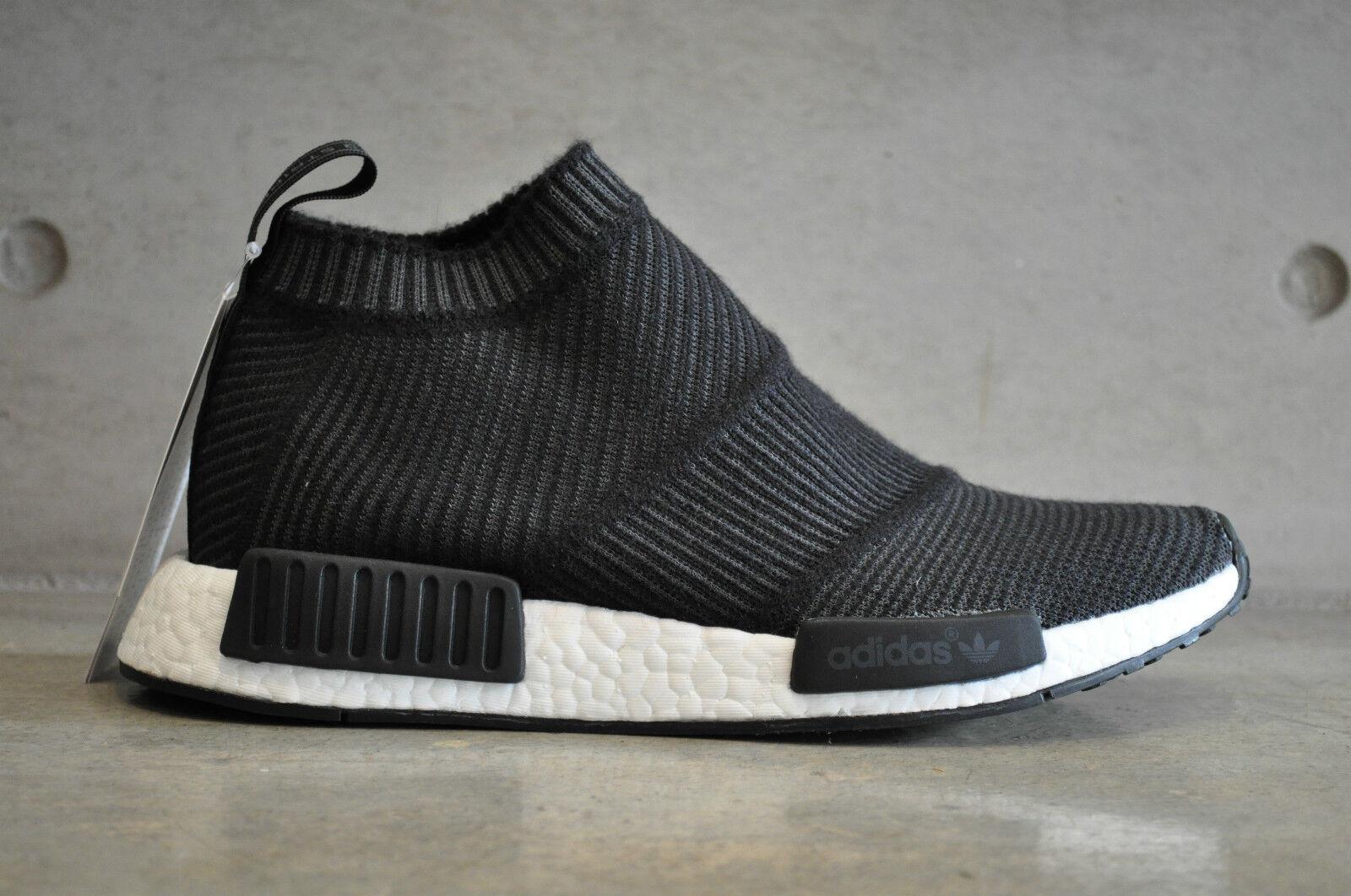 Adidas NMD City Sock CS1 PK Primeknit Winter Wool - Black White