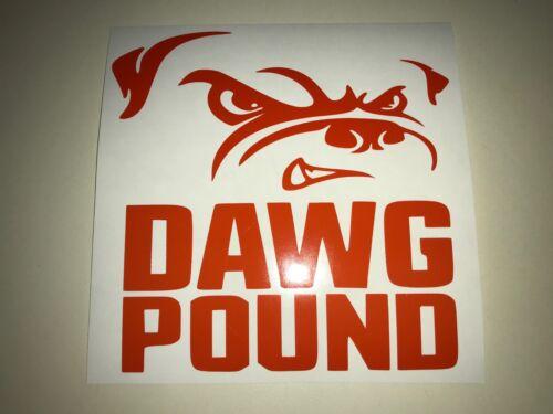 Window Toolbox Sticker #304 NFL Cleveland Browns Dawg Pound Stickers