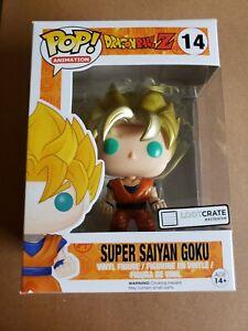 Dragonball Z Super Saiyan Goku Metallic Exclusive Funko POP Anime LootCrate NEW