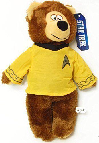 Official Star Trek 20inch Soft Plush Collectors Cuddly Bear Captain Kirk