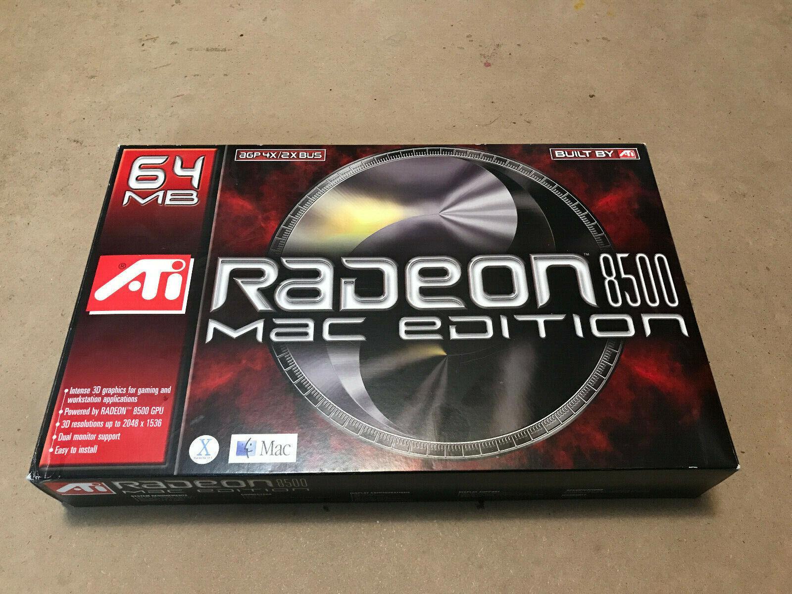 ATI Technologies ATI Radeon 8500 (100431050) 64 MB DDR SDRAM AGP 4x/8x Multi-mon