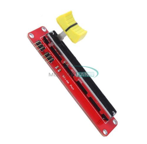 10K Linear Dual Output Slide Potentiometer Module Arduino AVR Electronic Block