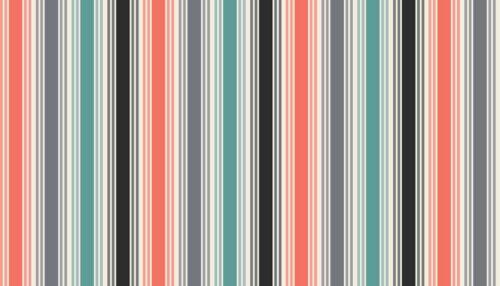 Makower Papillon stripe 100/% patchwork /& quilting fabric per 1//2m colour choice