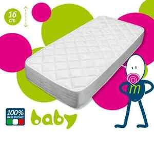 Materasso materassino x culla lettino baby bambino anallergico 60x120 alto 16cm ebay - Sponde letto bambini prenatal ...