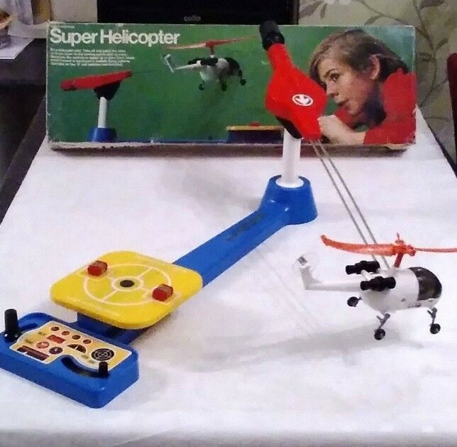 Vintage Epoch Super Helicopter     ( Excellent )