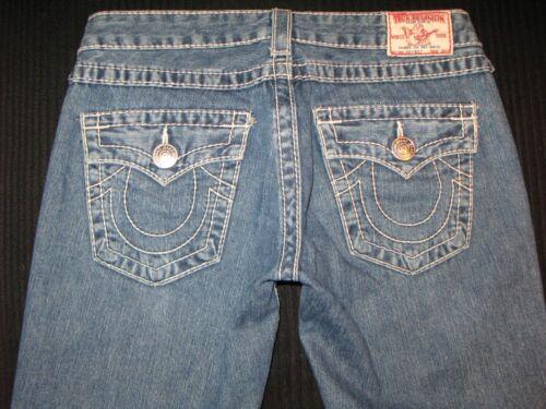 True Big Femmes 27 Jeans Coton 100 Joey Religion Sz Bootcut T Distressed Low rFqEpBF