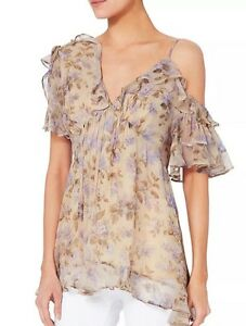 Zimmermann Silk Floral Blouse