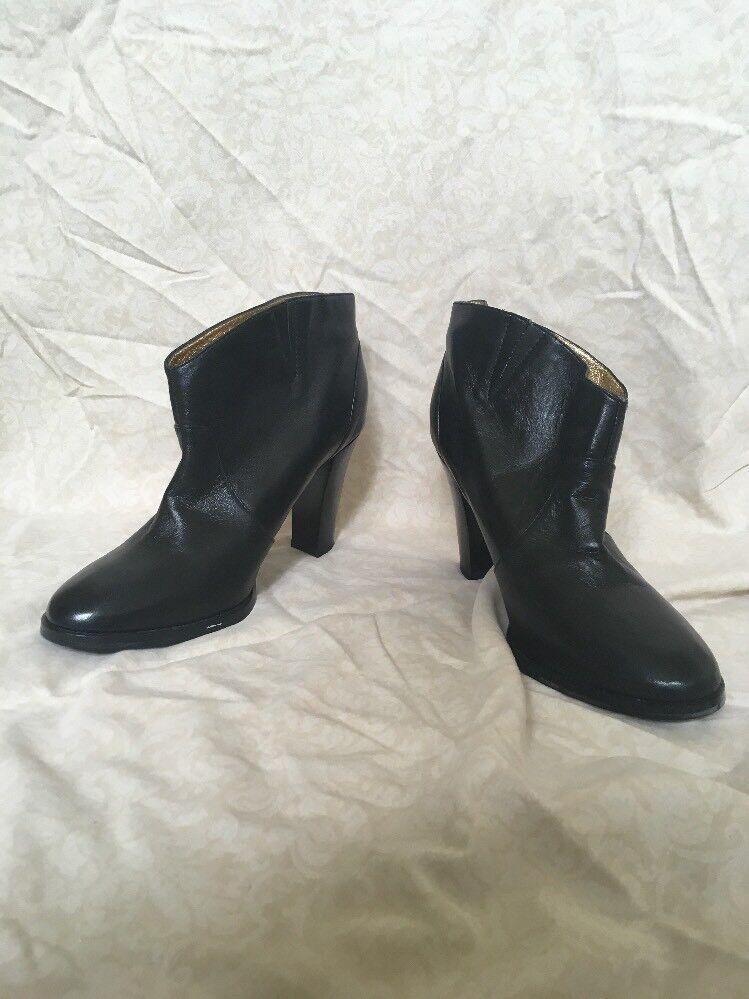 Daniblack Black Booties Womens Size 8.5M