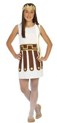 Le Ragazze Gladiatore Romano Giornata Mondiale Del Libro Settimana Costume Carnevale Vestito-mostra Il Titolo Originale