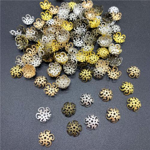 100pcs10mm Flower Torus Shape Alloy Beads Caps Jewelry Findings Jewelry Making
