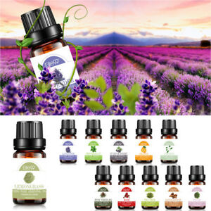 100% Pure Natural Aromatherapy Essential Oils Kit 4x10ml For Diffuser Choose Set