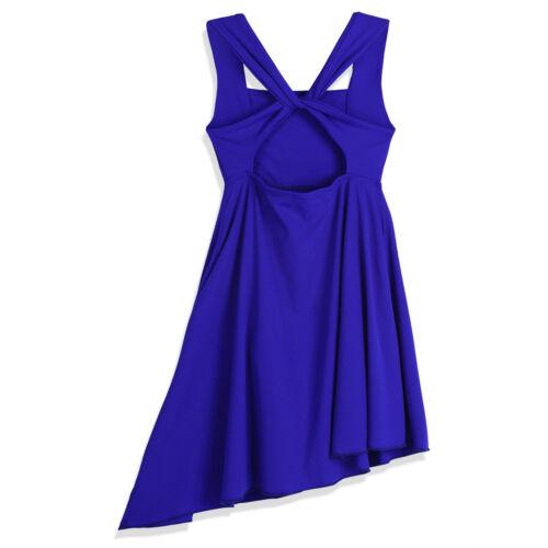 UK Girls Lyrical Ballet Dance Dress Ballroom Gymnastics Leotard Skirt Dancewear