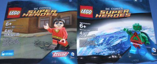 Plastic Man und Martian Manhunter OVP 2x Lego DC Comics Minifiguren