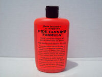 Hide Tanning Formula For Furs Pelt Deer Leather Trapping Taxidermy Trappers