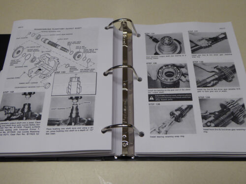 "Case 1570 Tractor /""Spirit of /'76/"" Service Manual Repair Shop Book NEW w//Binder"