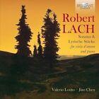 Robert Lach: Sonatas & Lyrische Stcke for viola d'amore and piano (CD, Jun-2016, 2 Discs, Brilliant Classics)