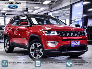 2020 Jeep Compass Limited|4X4|8.4\ UCONNECT|HTD SEATS|CLD SEATS|NAV