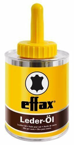 Effax Leather Oil, can with brush 475 ml Leather Care