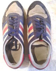 Details zu ADIDAS L. A. TRAINER Turnschuhe, Sneaker, getragen, Gr. 42, für Sammler