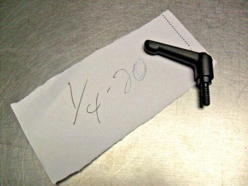 """ICG Classic Style Zinc Adjustable Handle,1//4-20 shaft 5//8/"""" NEW"""