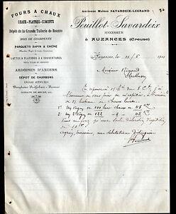 AUZANCES-23-FOURS-a-CHAUX-MATERIAUX-de-CONSTRUCTION-034-SAVARDEIX-amp-PEUILLOT-034-1911