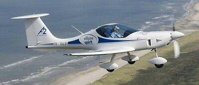 2013 A2 CZ Ellipse Spirit Ultralight Aircraft Mahogany Kiln Wood Model  Small New | eBay