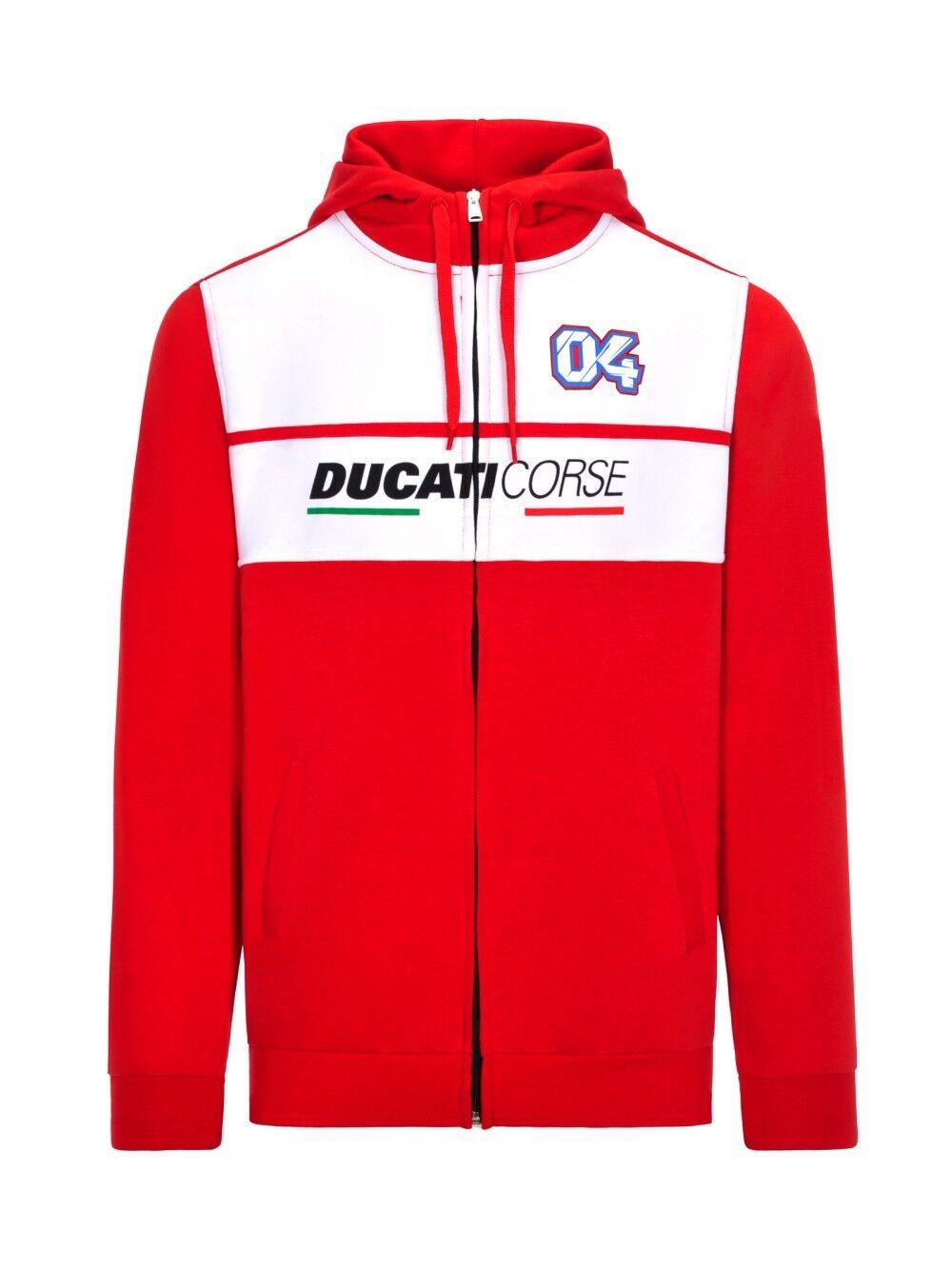 Official Andrea Dovizioso Ducati Dual Fleece Hoodie - 18 26007