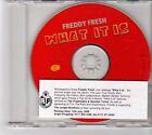 (FM646) Freddy Fresh, What It Is - 1999 DJ CD