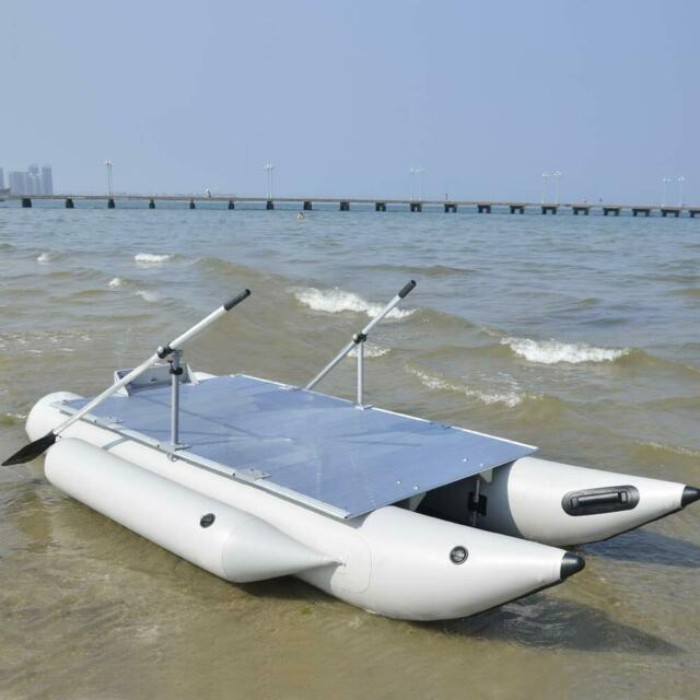 Aquos New 0 9mm Pvc 12 5 Ft Pf380 Fishme Pontoon Boat For Lure Fishing