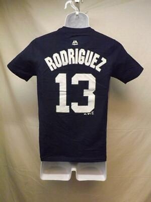New-minor Fehler Ny Yankees Alex Rodriguez Majestic Jugendliche M 10/12 Shirt Weitere Ballsportarten