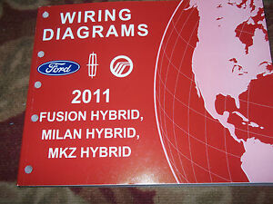 2011 ford fusion lincoln mkz mercury milan hybrid wiring diagram rh ebay com mercury milan radio wiring diagram mercury milan radio wiring diagram