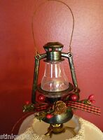 Miniature Lantern Christmas Lamp Finial Handcrafted By Lamp Shades Plus