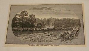 1886-magazine-engraving-HATFIELD-HOUSE-FROM-THE-PARK-England