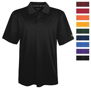Champion-H131-Men-039-s-Ultimate-Double-Dry-Solid-Polo-Athletic-Casual-Golf-Shirt